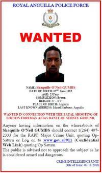 Anguilla : deux personnes recherchées par la police