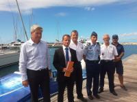 Les douanes saisissent 285 kilos de cocaïne dans la baie de Grand Case