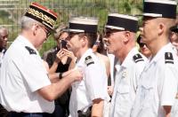 Le lieutenant-colonel Manzoni nommé chevalier de la légion d'honneur