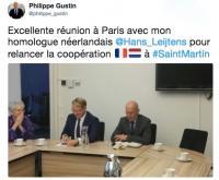 La France et les Pays-Bas évoquent ensemble la reconstruction de l'île