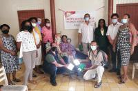 Electriciens sans Frontières distribue 750 kits solaires à Saint-Martin