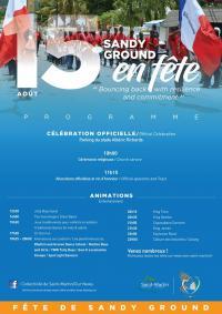 Programme de la fête de Sandy Ground