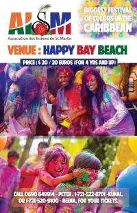 The 5th Color Festival this Sunday in Happy Bay