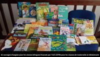 L'ACS ZEPIN remet des livres en anglais pour les classes bilingues