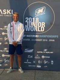 Ski nautique : Thomas Witczak, vice-champion du monde junior par équipe