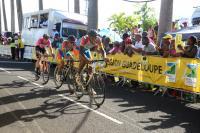Tour de Guadeloupe : le Vélo Club de Grand Case à la sixième place du classement par équipes