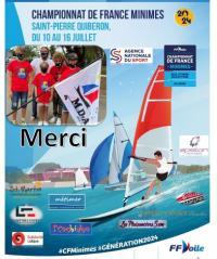 Quatre jeunes de Saint-Martin au championnat de France Minimes de voile légère